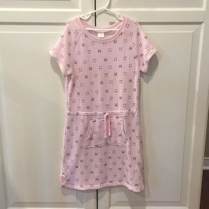 Gymboree Pink Cat Sweatshirt Dress